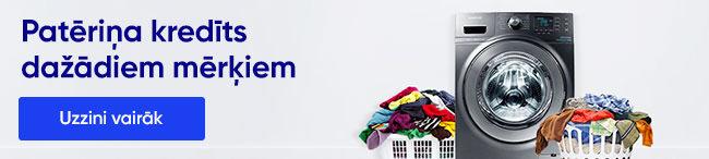 kredīts veļas mašīnas iegādei