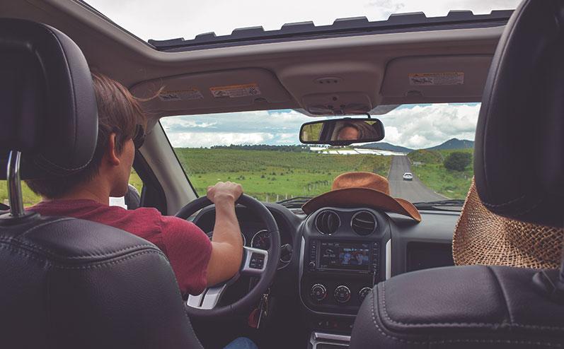 ceļojums ar auto