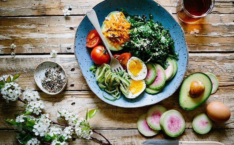 veselīgs ēdiens