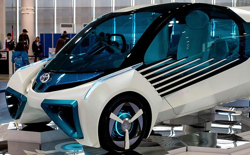 toyota водородный автомобиль
